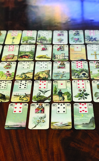 my inner witch   lenormand grand tableau reading
