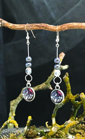 my inner witch | the star aquarian tarot earrings