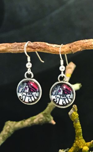 my inner witch | The star tarot earrings from the Aquarian tarot deck double sided earrings