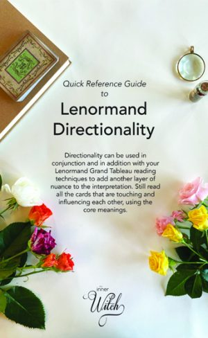My Inner Witch Quick Reference Guide to Lenormand Directionality